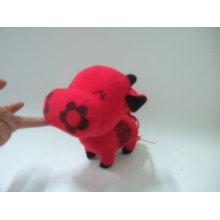 цветочная корова игрушки,мягкие детские игрушки животных,плюшевые игрушки бык