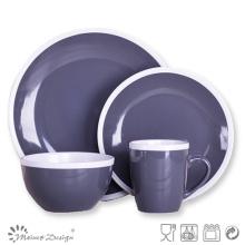 Bicolor Céramique Spécial Crokery Dinner Set