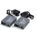 RJ45 Optic Fiber To Ethernet Cat6 Media Converter