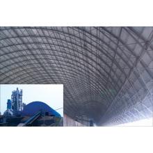 Prefab Stahl Space Frame Kohle Schuppen