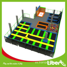 Big Indoor Trampoline Basketball Courts en venta