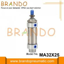 Airtac Type MA32X25SCA Stainless Steel Mini Air Cylinder