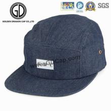 2016 Top Quality Denim Snapback Camper Cap avec Logo personnalisé