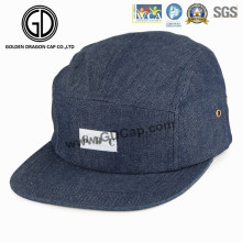 2016 Top Quality Denim Snapback Camper Cap with Custom Logo
