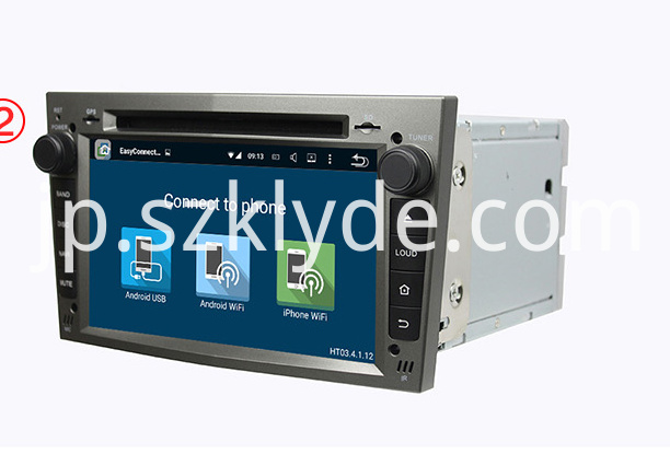 KD-7408 ASTRA(2004-2009) roof mounted dvd player