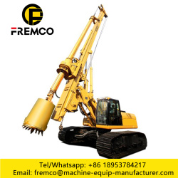 Construction Crawler Rotary Drilling Rigs