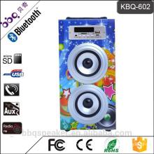 Best selling KBQ-602 10W portable Bluetooth speaker with USB/FM/TF