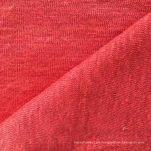 Tejido de lino tejido sólido para la camiseta