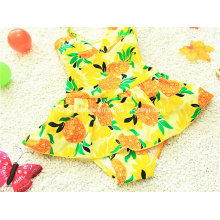 Pineapple Littlr Girl′s New Colorful Swimwear