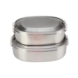 Oval Shape Lunch Box