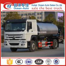 4 x 2 Caminhão de distribuição de asfalto HOWO 10 CBM