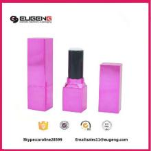 Plastic square custom lipstick container
