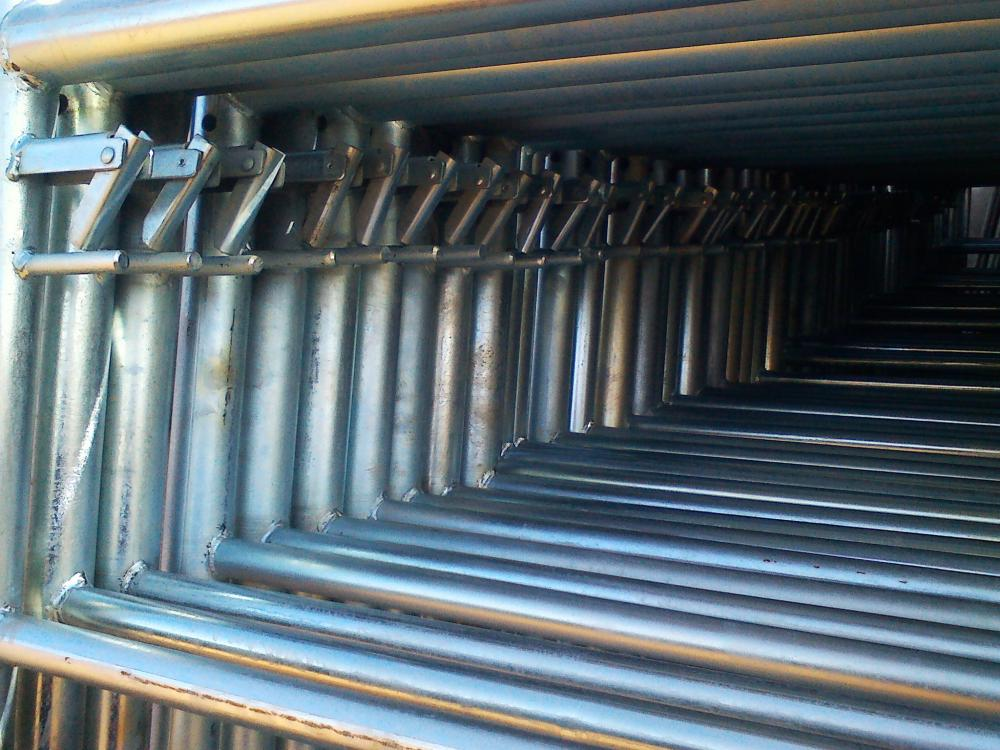 40x40 Mild Steel Pre-galvanized Square GI Pipes