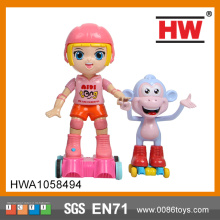 High Quality Plastic Kids Infrared Radio Controlled Toy With Monkey