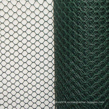 Malla de alambre hexagonal con revestimiento de PVC