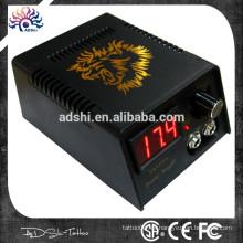 CE de calidad de plástico LED tatuaje digital fuente de alimentación / fuente de alimentación