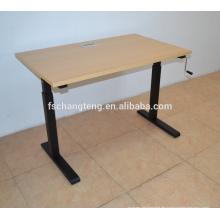 Bester Preis höhenverstellbar Schreibtisch von Handkurbel