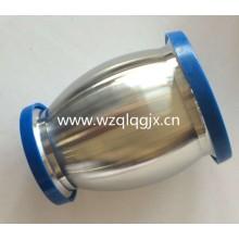 Válvulas de retención de bola sanitarias de acero inoxidable con drenaje