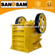 Широко используемая щековая дробилка с активированным углем мощностью 50-100 т / ч доминика
