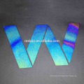 Iridescent/ rainbow reflective Heat Transfer Reflective Film for laser cutting