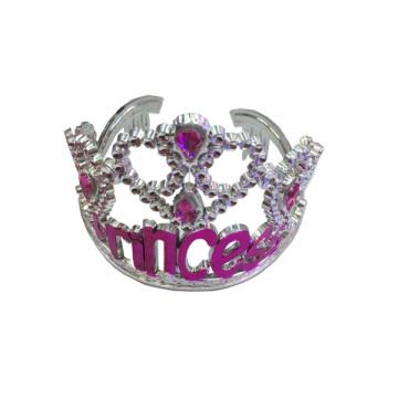 Accesorios de moda reales de Crystal Crown Round Tiara
