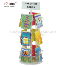 Stationery Counter Top DVD Cd Cards Comic Book Magazine Display Rack With Metal Or Wood Or Acrylic Material