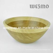 Utensílios de cozinha bambu grande salada tigela (wbb0409b)