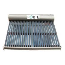 300L unter Druck gesetzter kompakter Solarwarmwasserbereiter mit Vakuumröhre