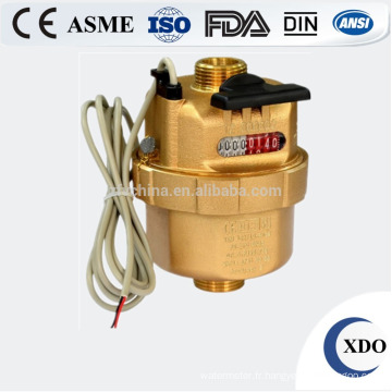 Compteur d'eau volumétrique du calss D de piston liquide vente chaude usine prix DN15-50