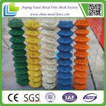 Color Coated Chain Link Fechten Materialien