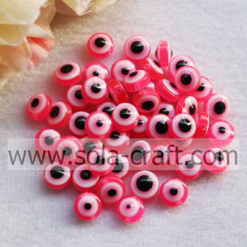 Rose New Large Selection Resin Plastic Round Bead Landing Food Grade siliconen kralen