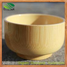 Bamboo Round Salad Bowl Children′s Bowl Bamboo Bowl