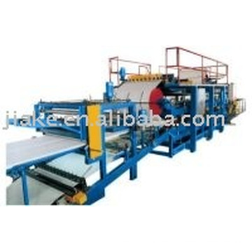 EPS sandwich panel machine/color steel and eps foam sandwich panel laminating machine