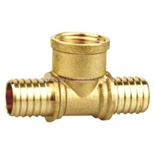 Brass Tee Pipe Pex Fitting (a. 0429)