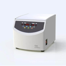 Laboratory Tabletop Low Speed Centrifuge Td4a with Angle and Swing Rotor for Selection