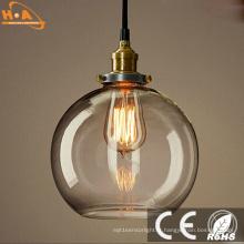 Simple Global Pas Cher Vintage Lampe En Verre Pendentif Lumière