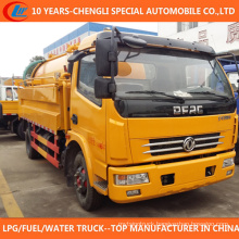 4X2 High Pressure Cleaning 6cbm Sewage Suction Truck