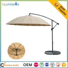 balcón sombrilla colgante central al aire libre sombrilla de jardín sol parasol
