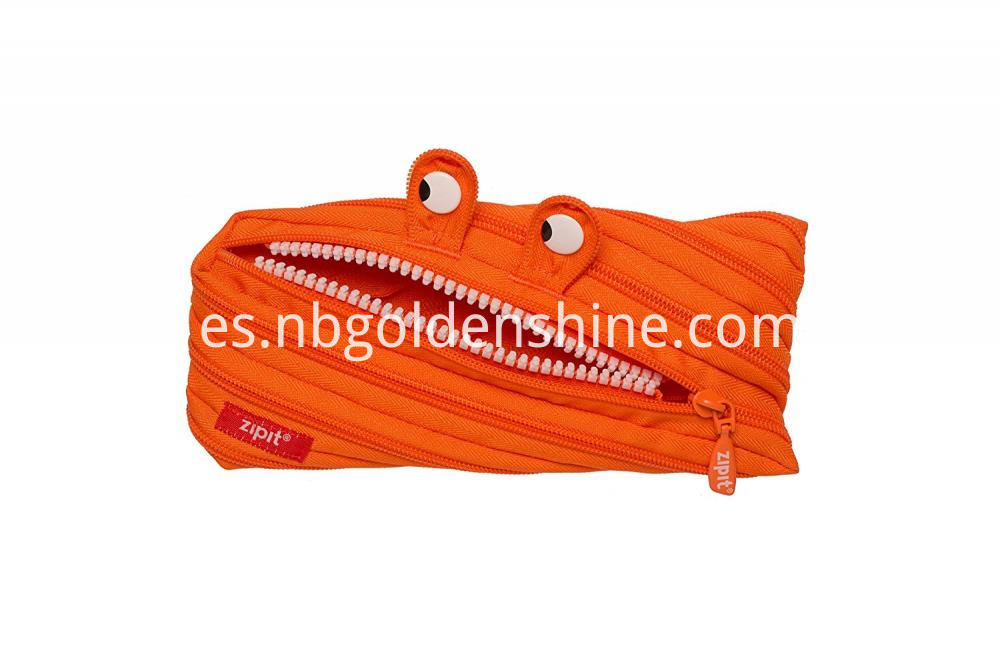 Funny Zipper Pencil Case
