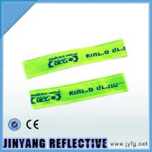 China LED-pvc reflektierende Slap Wrap elastische reflektierende Armbinde