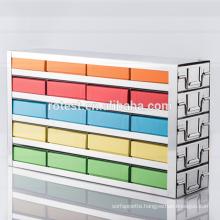 freezer storage rack used for 50ml cardboard centrifuge tube box