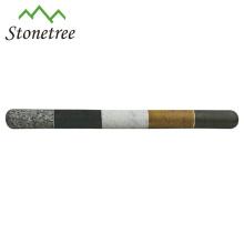 Marmor Nudelholz mit Holzgriff
