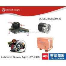 Original yuchai engine YC6A260-33 parts for Chinese truck