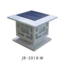 Stein Farbe solar Zaun Kappe führte Lichter, solar Licht Zaun Pfostenkappe geführt, solar Zaun Post Lichter geführt
