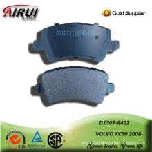 semi-metallic car brake pad for VOLVO XC60 2008-