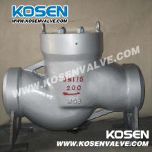 Válvulas de retención de elevación de la central eléctrica (H61Y)