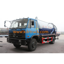 10CBM Sewer Suction Truck Euro 4