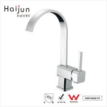 Haijun 2017 New China Thermostatic Polished Long Neck Kitchen Faucets