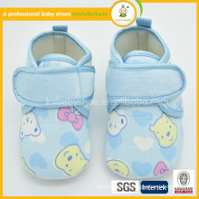 2016 hot sale high quality handmade custom lovely cute cotton baby shoes wholesale baby moccasin shoes toddler shoes