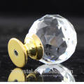 dresser, cabinet, drawer and wardrobe glass crystal ball handle pull push knobs wholesale